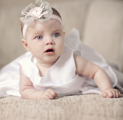 3-month-old-baby-girl-christening-portrait